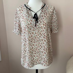 Cottage Core Short Sleeve Top